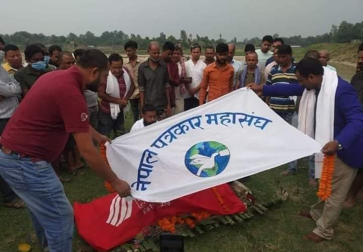 नेपाल पत्रकार महासंघ प्रदेश २ का उपाध्यक्ष  रामानन्द प्रसाद गुप्ताको निधन